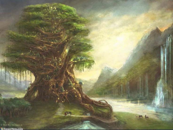 arbre-et-cascade