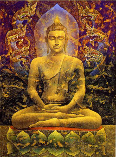 Bouddha royal