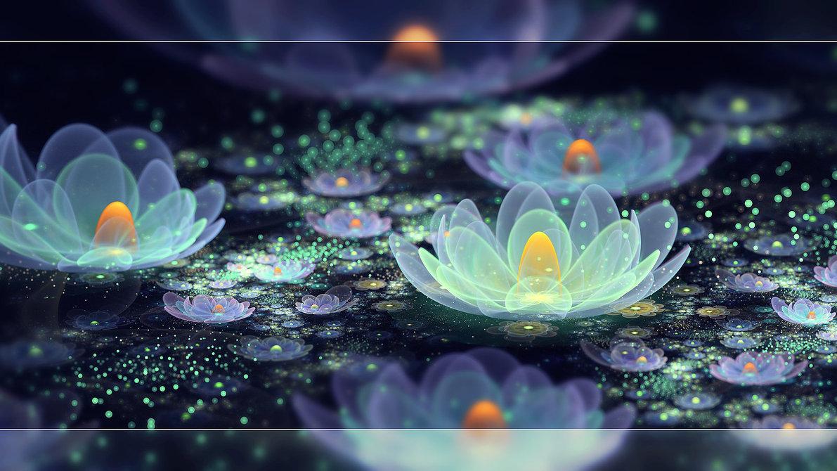 lotus_pond_dew_by_fiery_fire-d5fkmjw